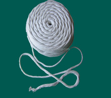 Dust free Twisted non Asbestos rope used as caulking heat resistant