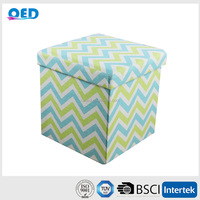 Worth Buying Safe Filling Foam Storage Ottoman stool