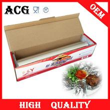 food packing use aluminum foil for chocolate for microwave oven