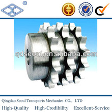 "DIN 8187 ISO/R 606 material C45 weld on hub 08b-3 pitch 12.7 roller 8.51 22T triplex roller chain sprocket 1/2""*5/6"""