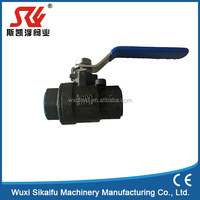 2pc WCB ball valve with cheap price and good quality