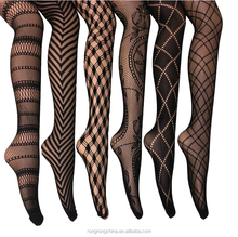 Fishnet Lace Stocking Tights Extended Sizes