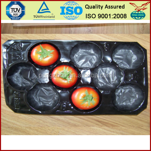 environmental pp plastic tray for tomato