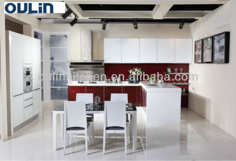 2017 high quality compact white kitchenette