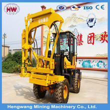 2016 C shape ,U shape post Highway Guardrail Pile Driver