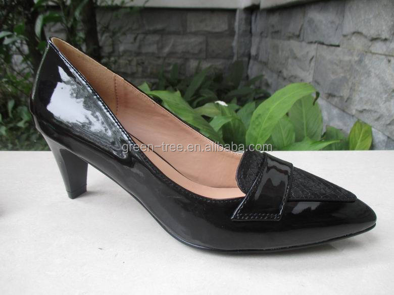 Low heel cheap china shoes export