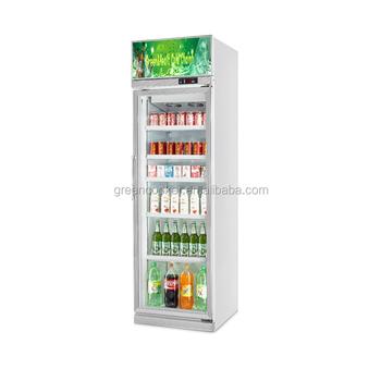 Upright Single Glass Door Beverage Cooler Buy Beverage Cooler
