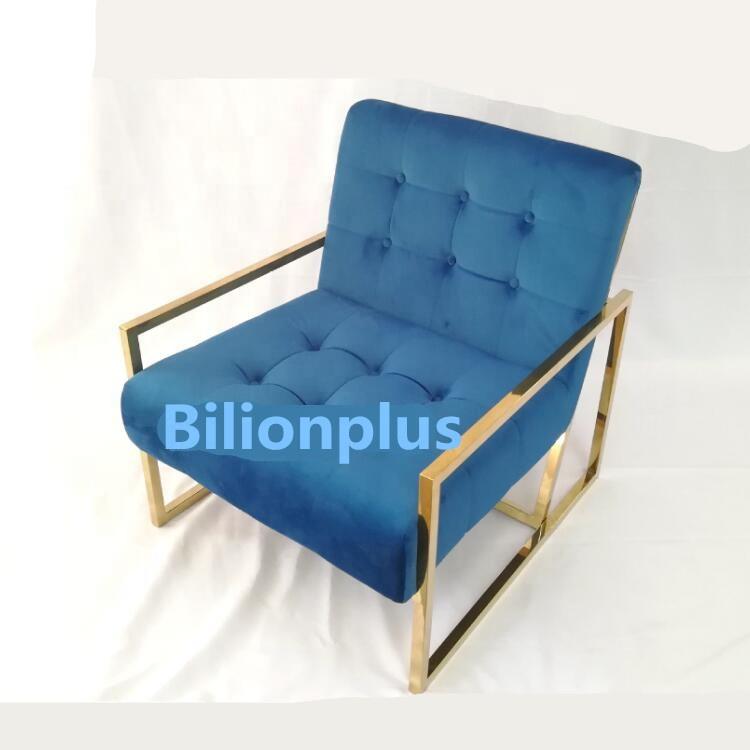 Modern Industrial Black Metal Frame Sofa Gold Finger Chair Lounge Chair    Buy Modern Lounge Chair,Lounge Chair Sofa,Gold Finger Chair Product On ...
