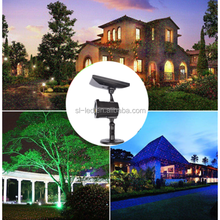 Christmas solar landscape laser light waterproof garden indoor and outdoor light