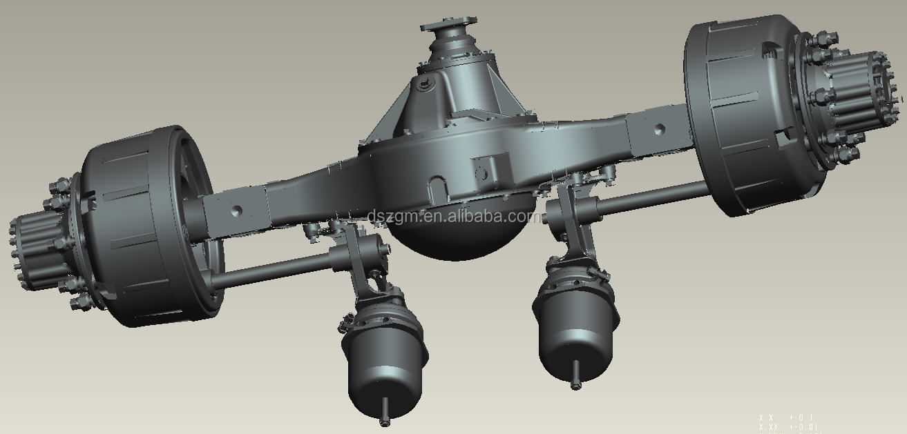 heavy duty trailer axle,trailer parts