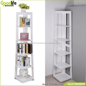 America best selling products 5 tier corner ladder book shelf
