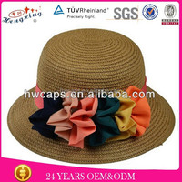Drinking straw hat mexican sombreros