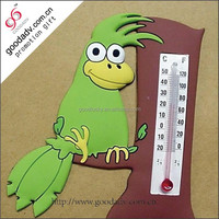 Logo printed adhesive thermometer fridge magnets with thermometer
