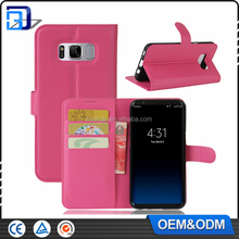 For Samsung Galaxy S8 Case, Wallet Credit Card Stand Leather Flip Cover Pouch For Samsung Galaxy S8 Phone Case