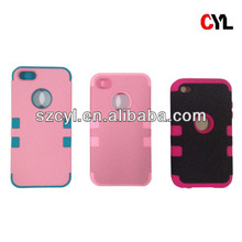 3in1 case for iphone/ Luxury case for iphone 5s/ Combination case for iphone 4s