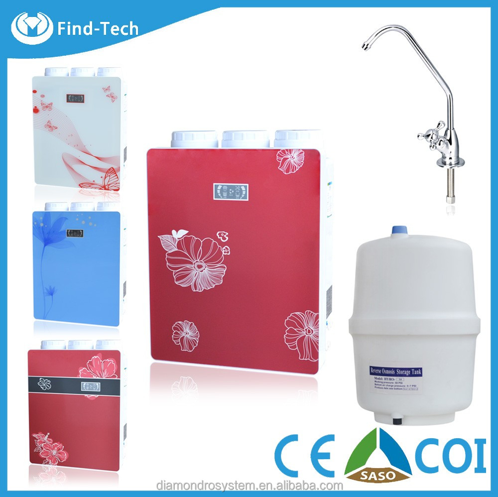 china manufacturer price luxury 5 stage energy drinking water purifier,high quality reverse osmosis ro-50g water filter