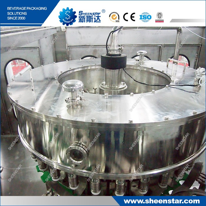 CGF32-32-10 Mini Plastic Bottle Washing Filling Capping Machine