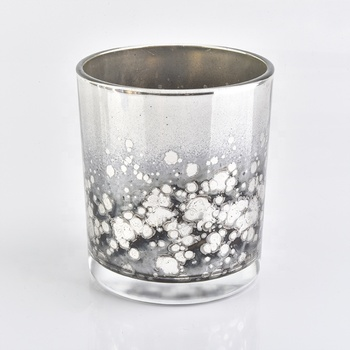 400ML Elegant Glass Candle Jar for Decor