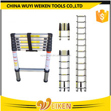 Aluminum Telescoping Extension Ladder / Telescopic ladder/Telesteps with Finger protection