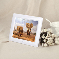 "8"" Small LED Screen Digital Photo Frame With Remote Control Video Display Electric Picture Frames"