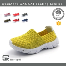2017 New Style Hand Making Woven Elastic Shoes Running Shoes