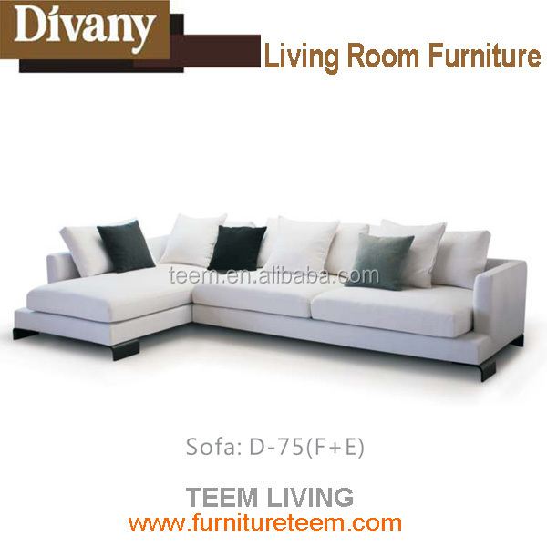 D 75 Corner Sofa Seating Unit With Chaise Lounge Living