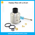 Coppervape 316SS Hadaly rda 22mm big Cloud hadaly rda with a bf pin include DIY rda