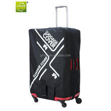manufacture Chinese oxford spandex Leka luggage cover for travelling