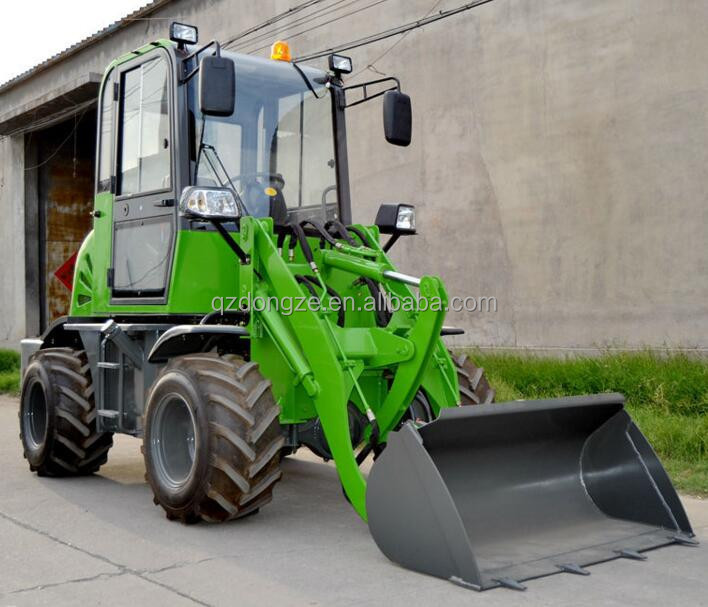 Multi function mini wheel loader snow blower for sale