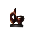 100% handmade artistic Copper Sculpture For Indoor Decoration