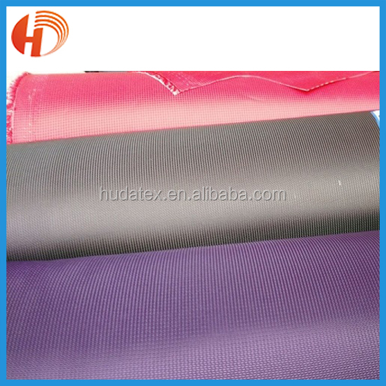 100% polyester 1680d pvc coated oxford fabric