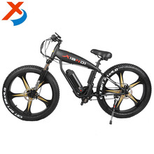Factory Supplied Newest Hot Sale 26inch Mag Wheels Middle Motorized Fat Tire Electric Bike / Bicycle