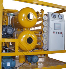 3000L/H Vacuum Double Stage Transformer Oil Regeneration
