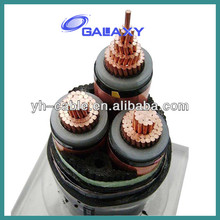 Producing 0.6/1kv-26/35kv Copper Core XLPE Insulated PVC Jacket Electric Power Cable Sizes