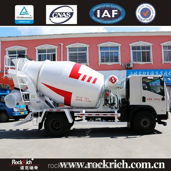 Small 5 cubic meters concrete mixer truck price low