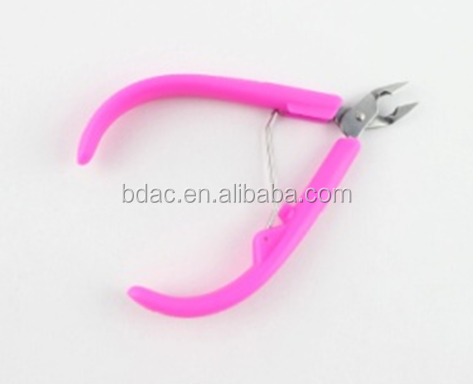 custom professionalfree sample stainless steel sharp scissor cutter nipper nail clipper for thick nails