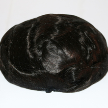 Lace Front Toupee for Men Hair Pieces for Men European Virgin Human Hair Replacement <strong>System</strong> <strong>10</strong>&quot; <strong>x</strong> 8&quot; Human Hair Wigs