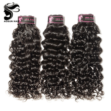 Aosun Hair Wholesale Quality Remy Wet And Wavy Virgin Indian Hair