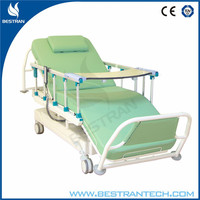 China BT-DY005 Cheap 3 Motors Electric Dialysis Recliner Chair Price, Medical Dialysis Treatment Chair With Side Rails, Wheels