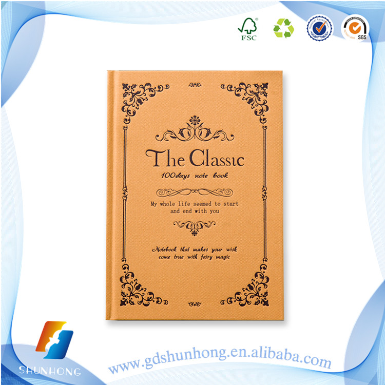 Good price of recycled paper notebook for wholesale