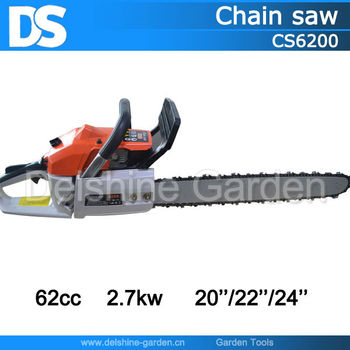 CE 62cc 2.7kw CS6200 Cheap Chain Saw