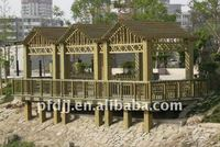 Antisepsis Wooden Garden Bridge