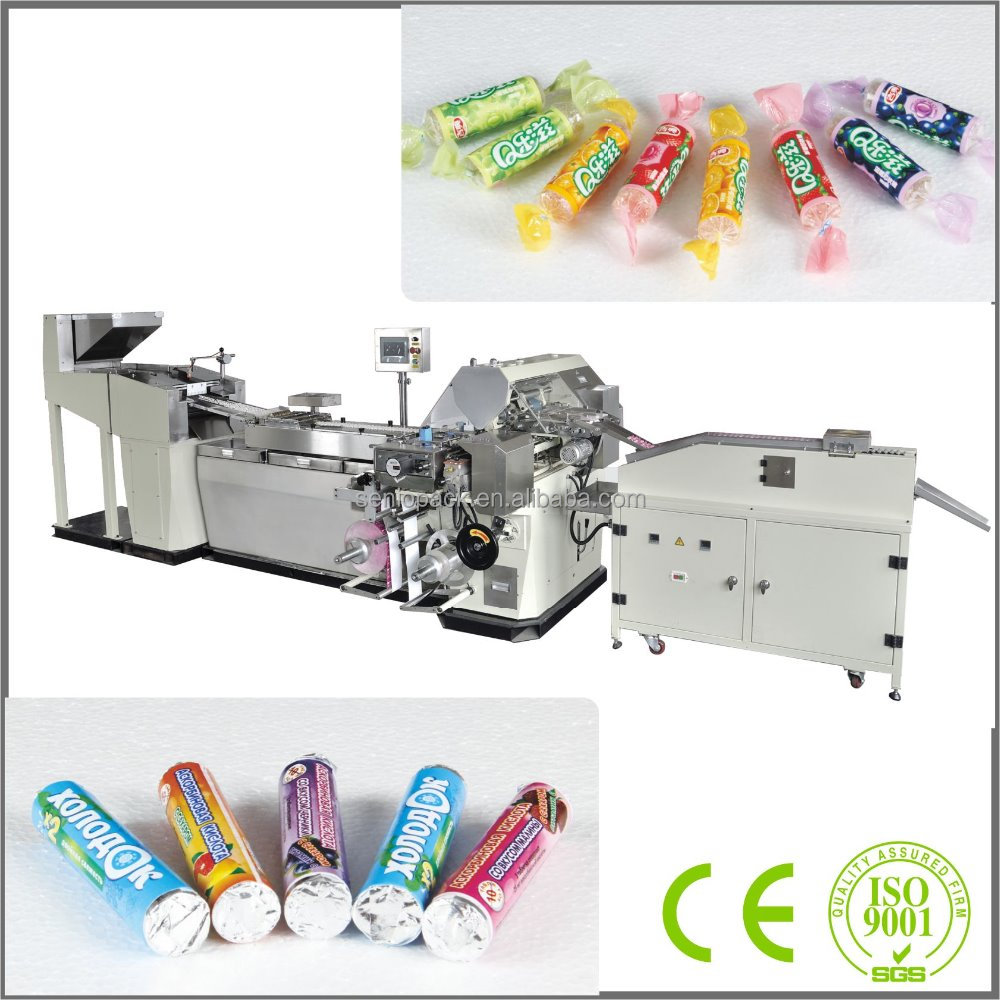 SMVS-2000 Double Or Single Layer Paper Automatic Volume Jelly Candy Packing Machine
