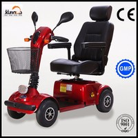 Four Wheel Medical Mobility Scooter with CE Approval for Old Man Outdoor Sightseeing