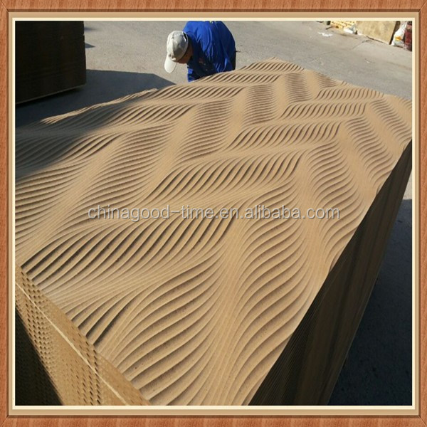 Wall decoration 3D wave mdf board all models