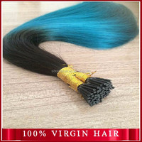 Brazilian virgin hair Pre-bonded I-tip human hair extensions 7A grade new hair products