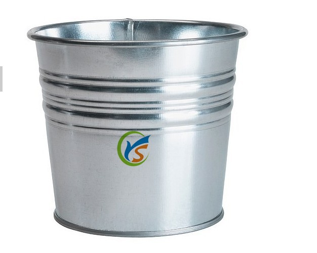 China online shopping wholesale galvanised steel plant pots