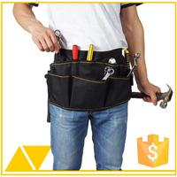 600D heavy duty polyester adjustable garden tool belt
