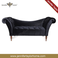 Indoor antique chaise lounge, chaise lounge chair