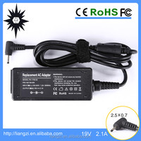 19v 2.1a adapter for asus tablet s